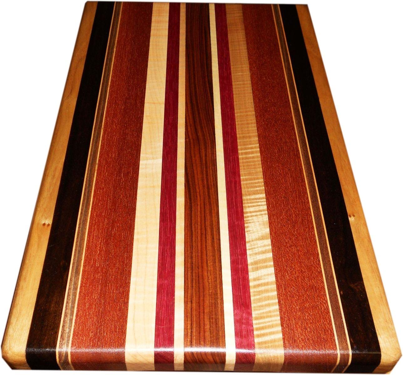 Buy A Custom Made Exotic Wood Cutting Board Full Size