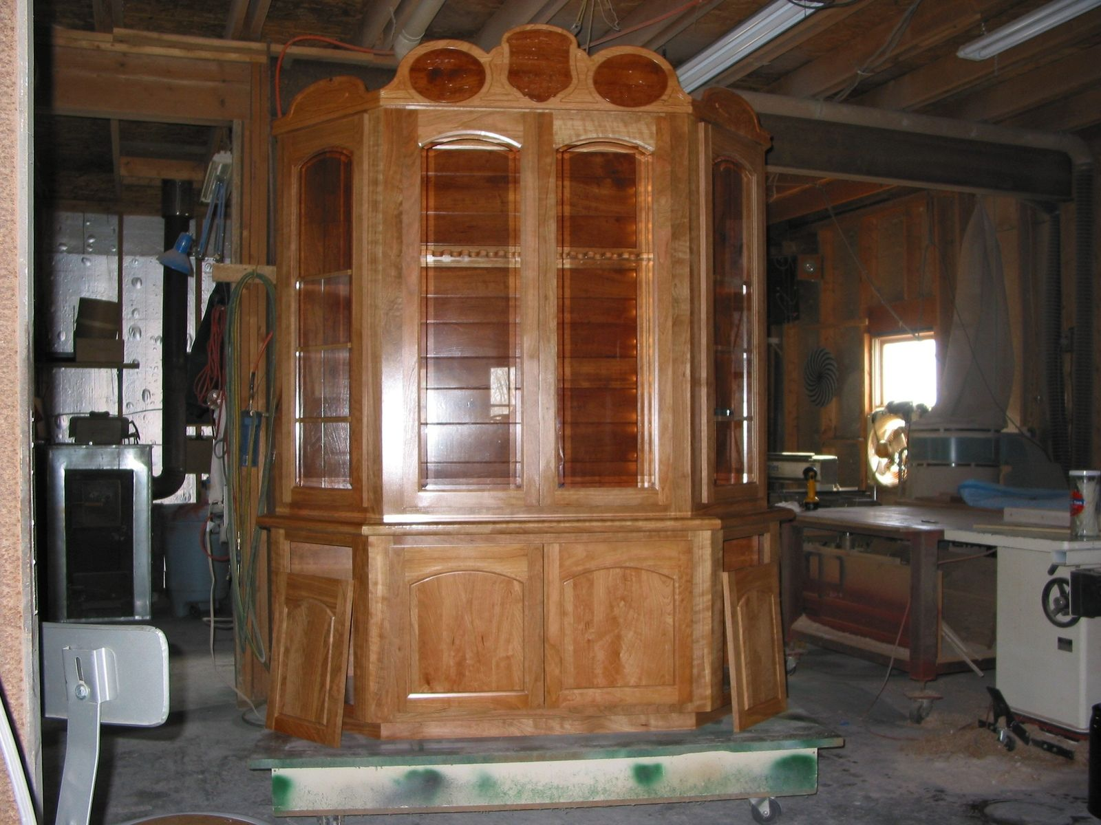 Hand Crafted Custom Gun Cabinet By Cms Design