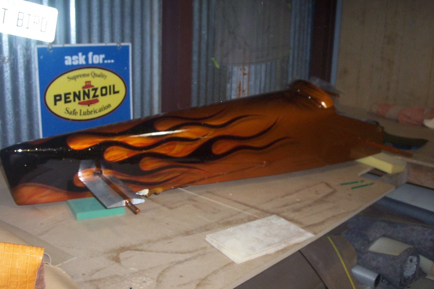 Handmade Custom Soap Box Derby Car Interior By Bayou