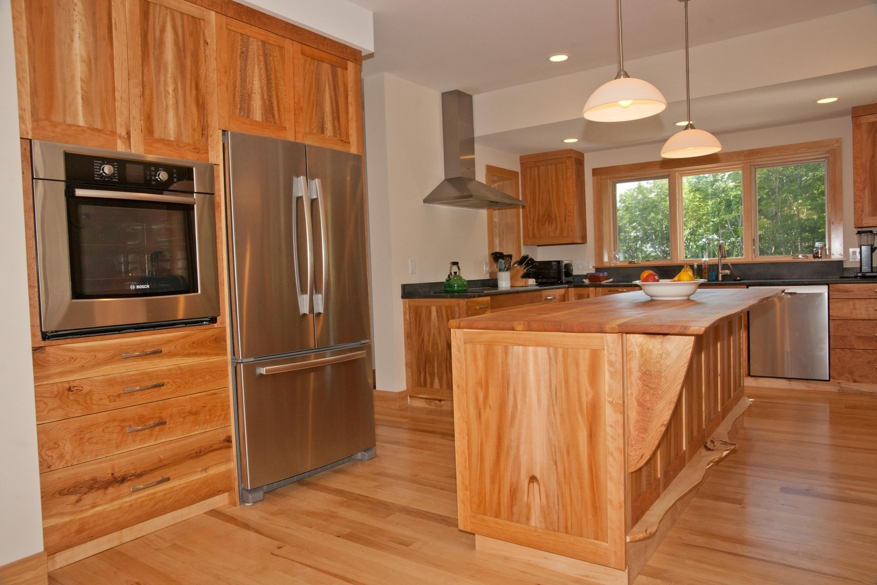 Best Kitchen Gallery: Handmade Cherry American Lacewood And Maple Kitchen Cabi S By of Tiger Maple Kitchen Cabinets on cal-ite.com