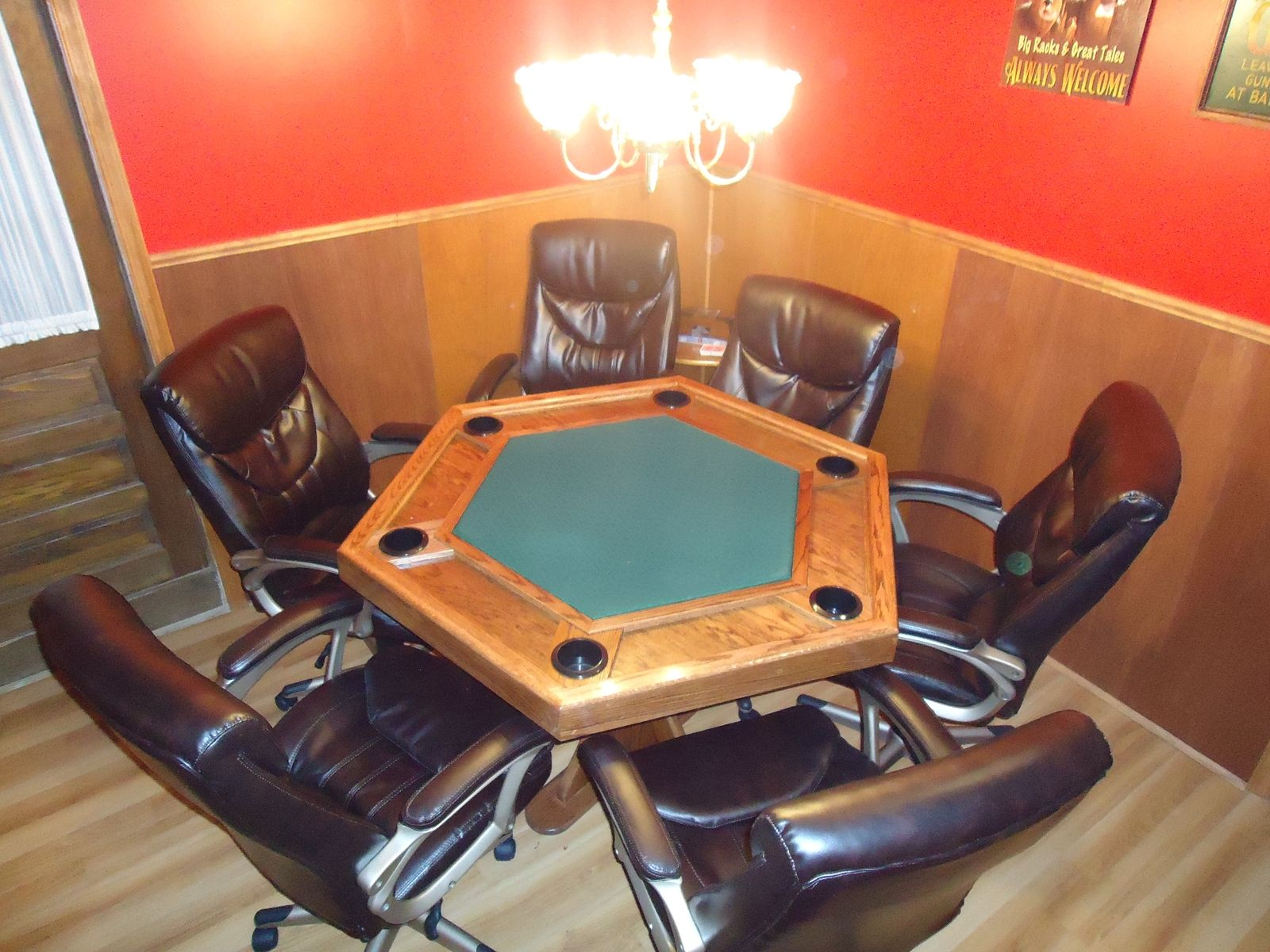 Hand Made Poker Table By Cjs Woodworks Custommade Com