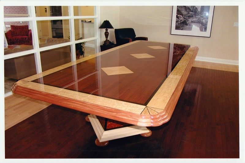 Custom Conference Table By RE Wampler Amp Son Custom