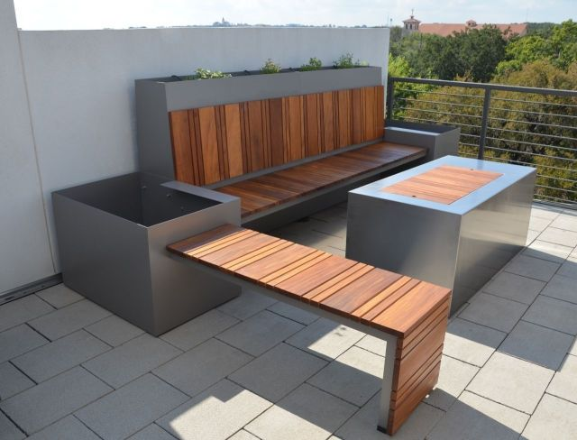 handmade outdoor seating area and custom fire pitsarabi studio