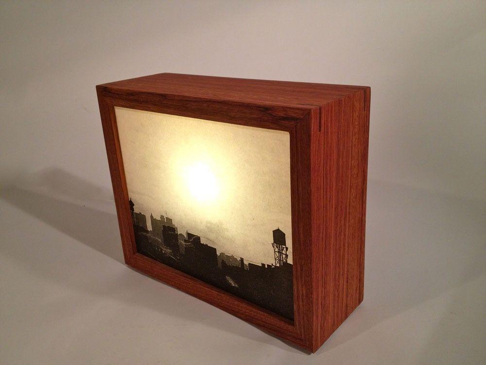 Custom Made Light Box By Chris Maher Design