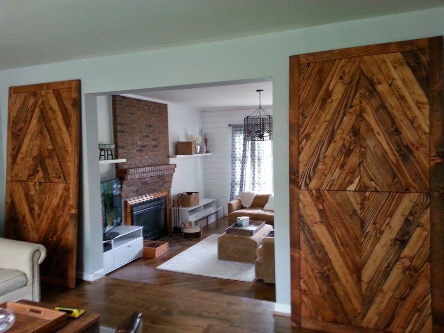 Hand Made Solid Reclaimed Wood Barn Doors