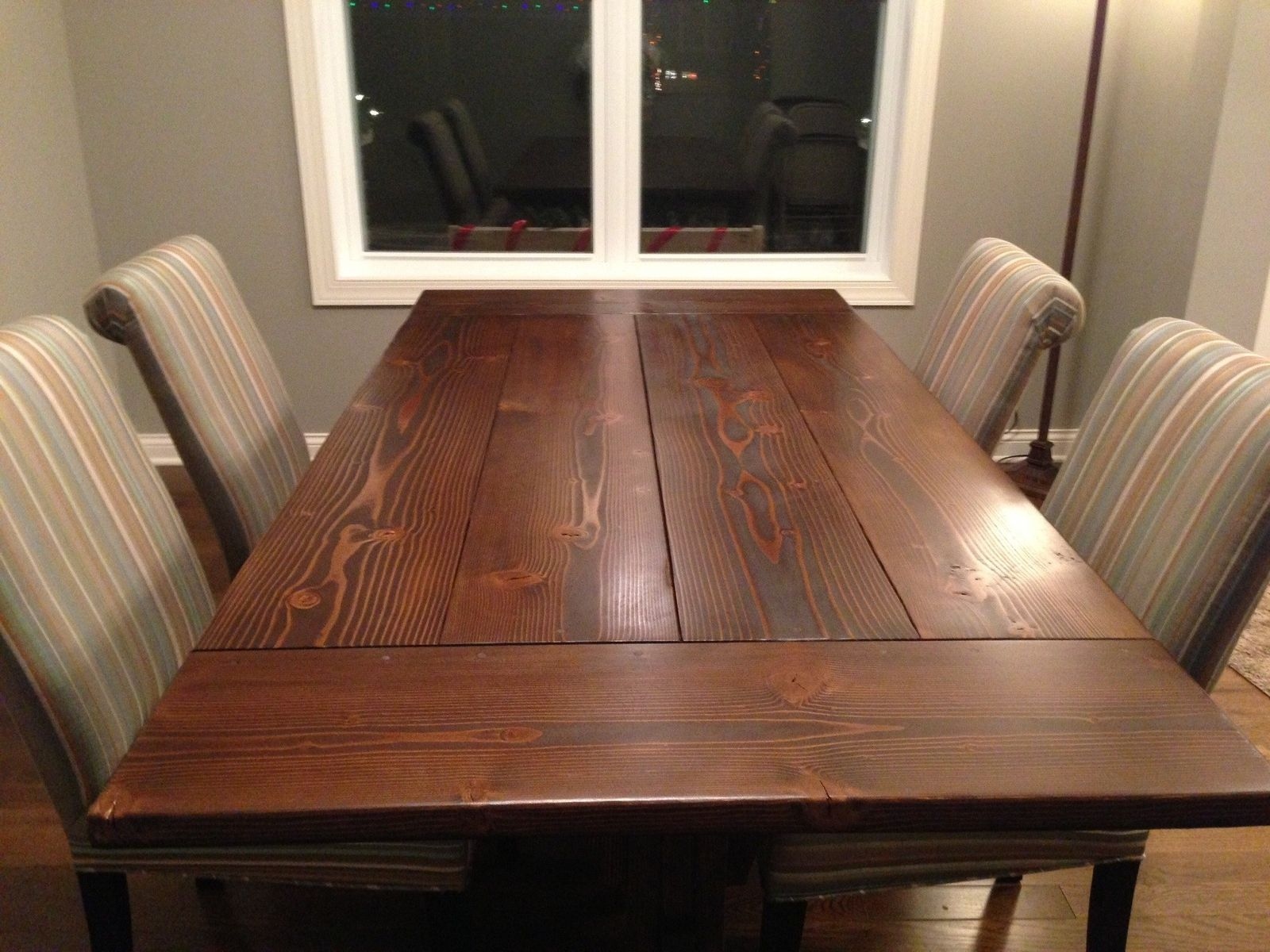 Custom 7 Farmhouse Trestle Table With Breadboard Ends By Imagine Designs