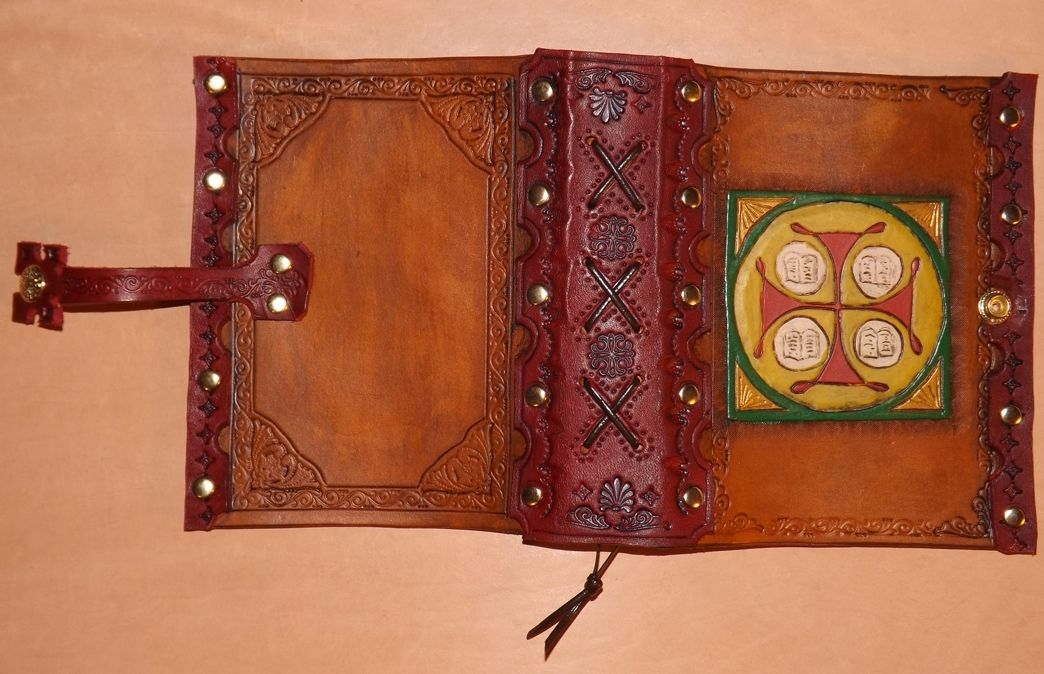 Handmade Handcrafted Leather Journal Covers By Genes
