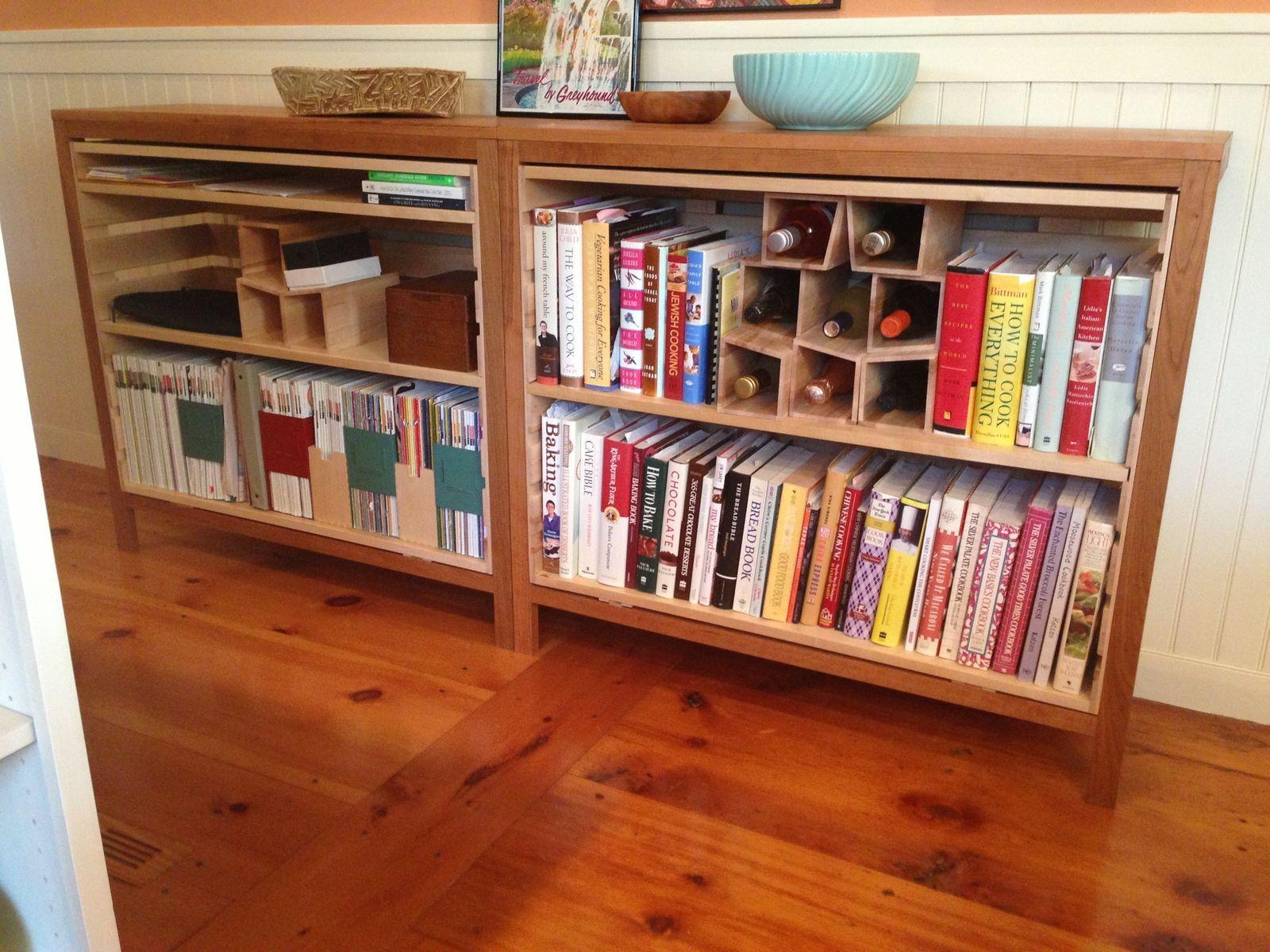 bookcase winerack