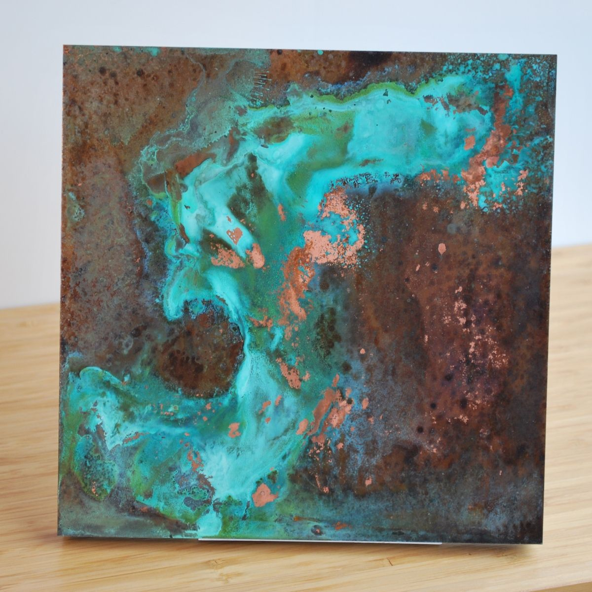 Custom Copper Patina Wall Art Various By Ck Valenti