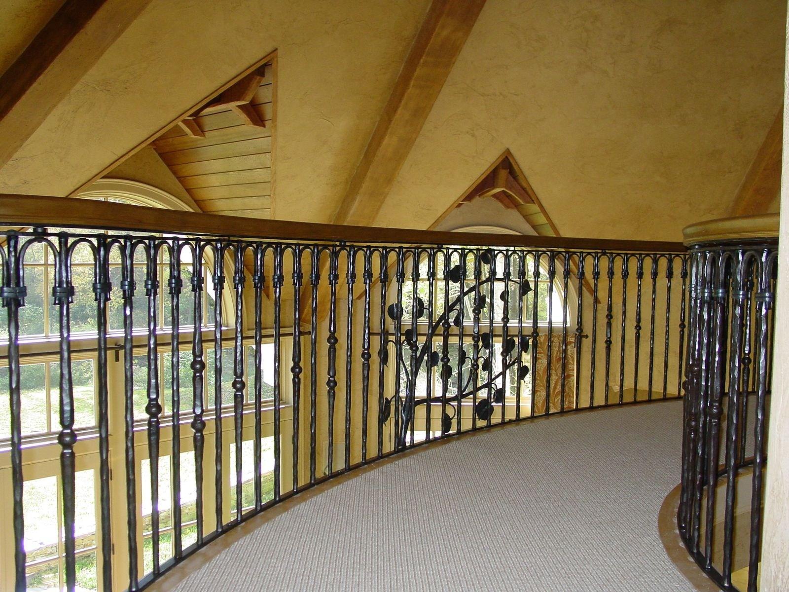 Custom Railings And Handrails Custommade Com | Wrought Iron Stair Railings Interior Cost | Wood | Cast Iron Spindles | Stair Spindles | Staircase Ideas | Iron Staircase Railings