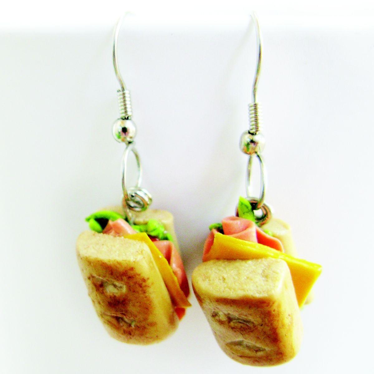 Handmade Food Earrings By Mashia Crafts BycreArte