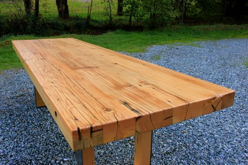 Custom Mondo Douglas Fir Dining Table By Smithson Fine