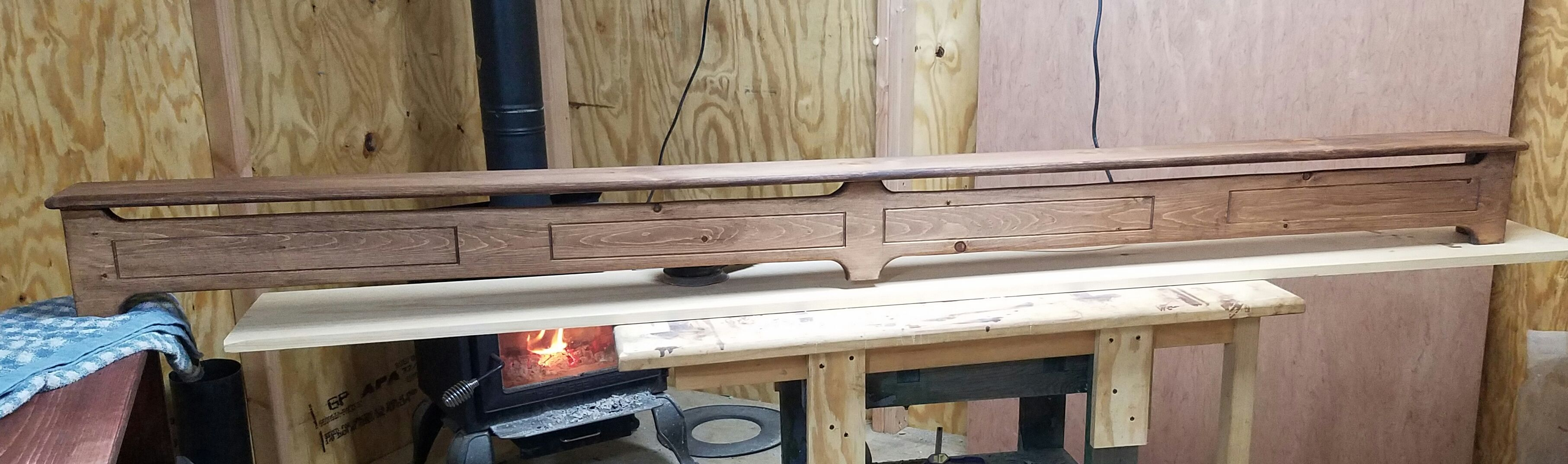 Hand Made Decorative Baseboard Heater Cover By Family Sawmill Restorations And Creations Custommade Com