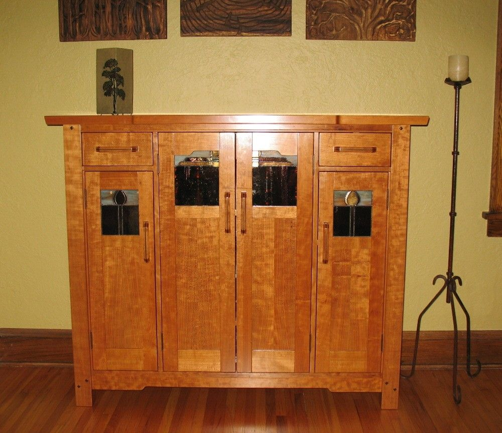 Custom Made Greene Amp Greene Liquor Cabinet By Timeless