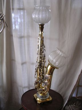 Hand Crafted Table Lamps Desk Lamps And Sconces From Musical Instrument Wall By Mr Jacks