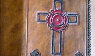 Bible Cover Made With Wood | Wooden Thing