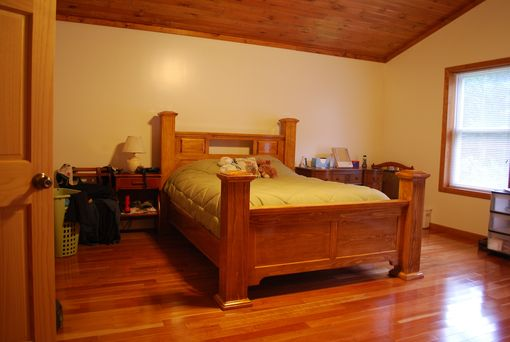 Handmade Four Post Bed By Larue Woodworking