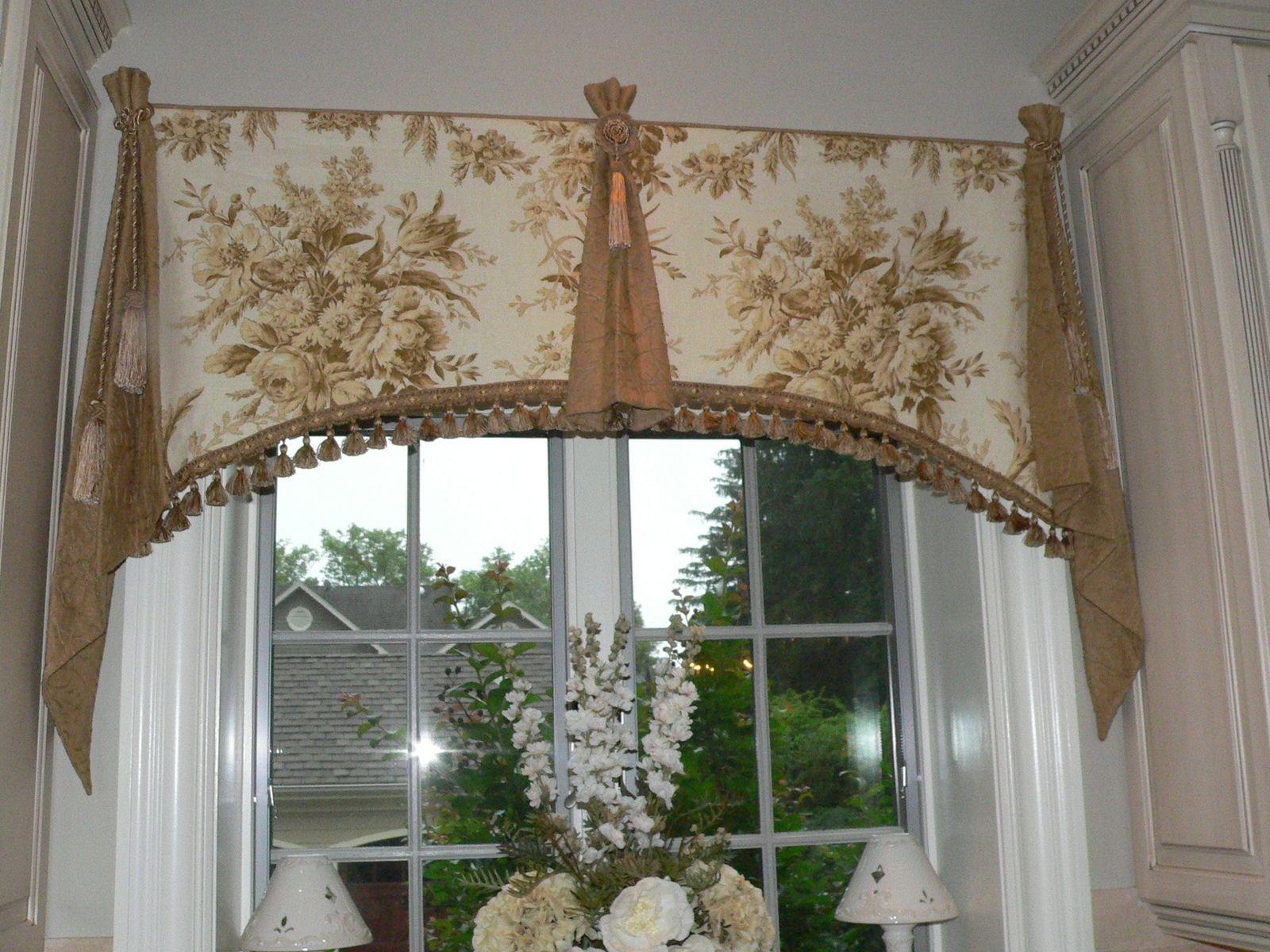Custom Elegant Window Valance By Catys Cribs