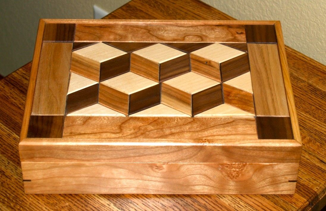Hand Crafted Keepsake Box By Cannon Custom Woodworking LLC