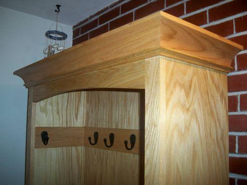 Handmade Oak Hall Tree By Rj Renovations L L C