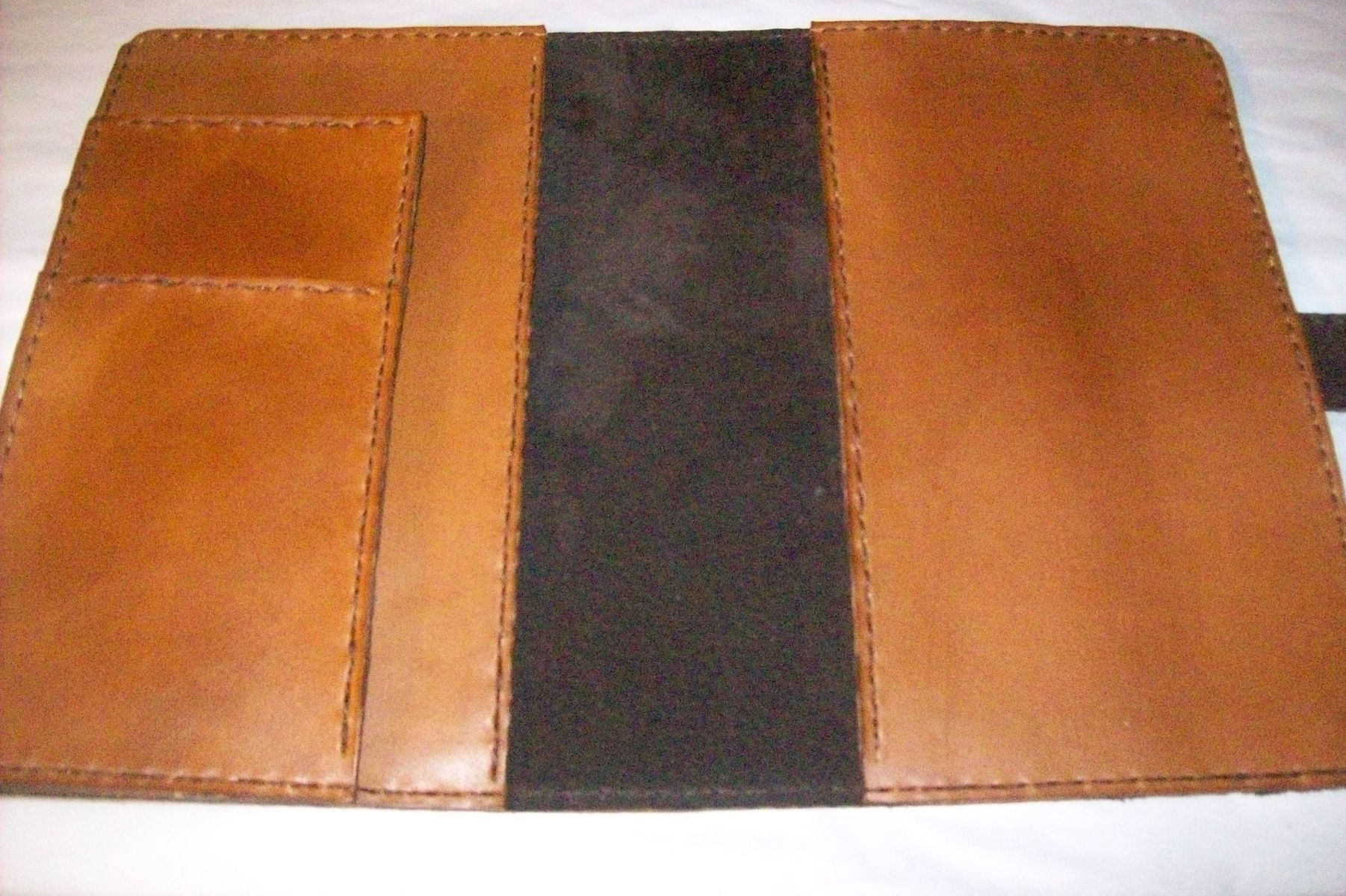 Buy A Hand Made Custom Leather Planner Cover Made To