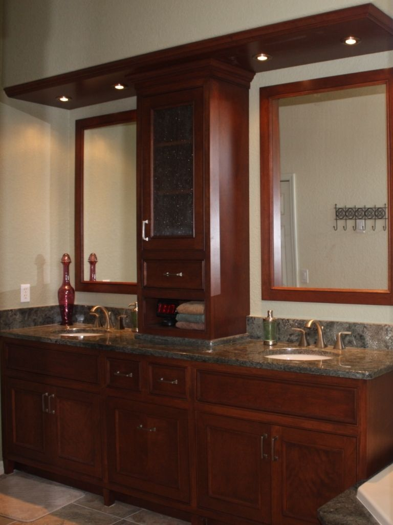 Hand Crafted Master Bath Vanity By Aakb IncCustom