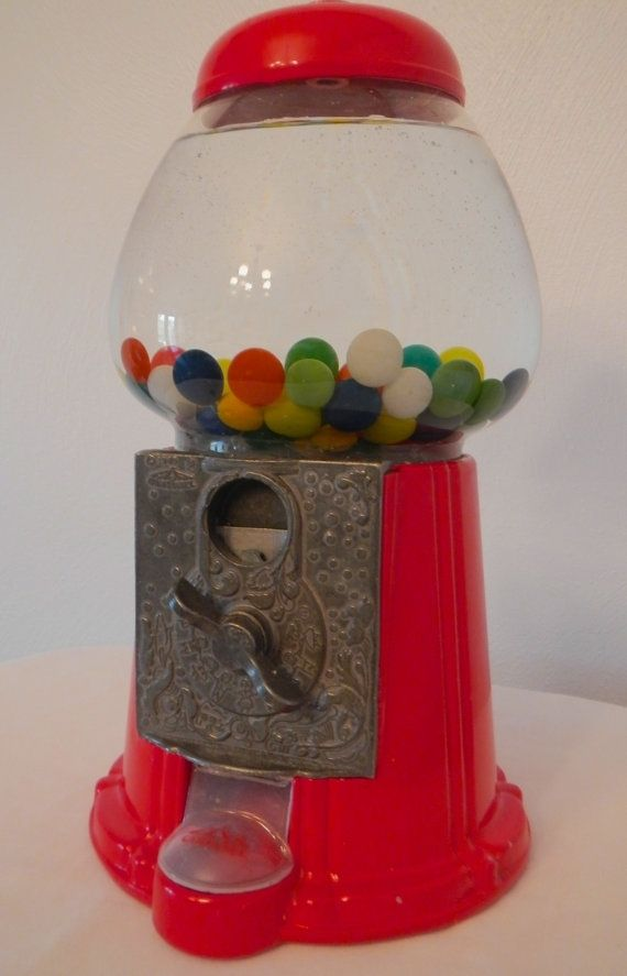 Custom Made Vintage Gumball Fish Tank By Mosaic Made