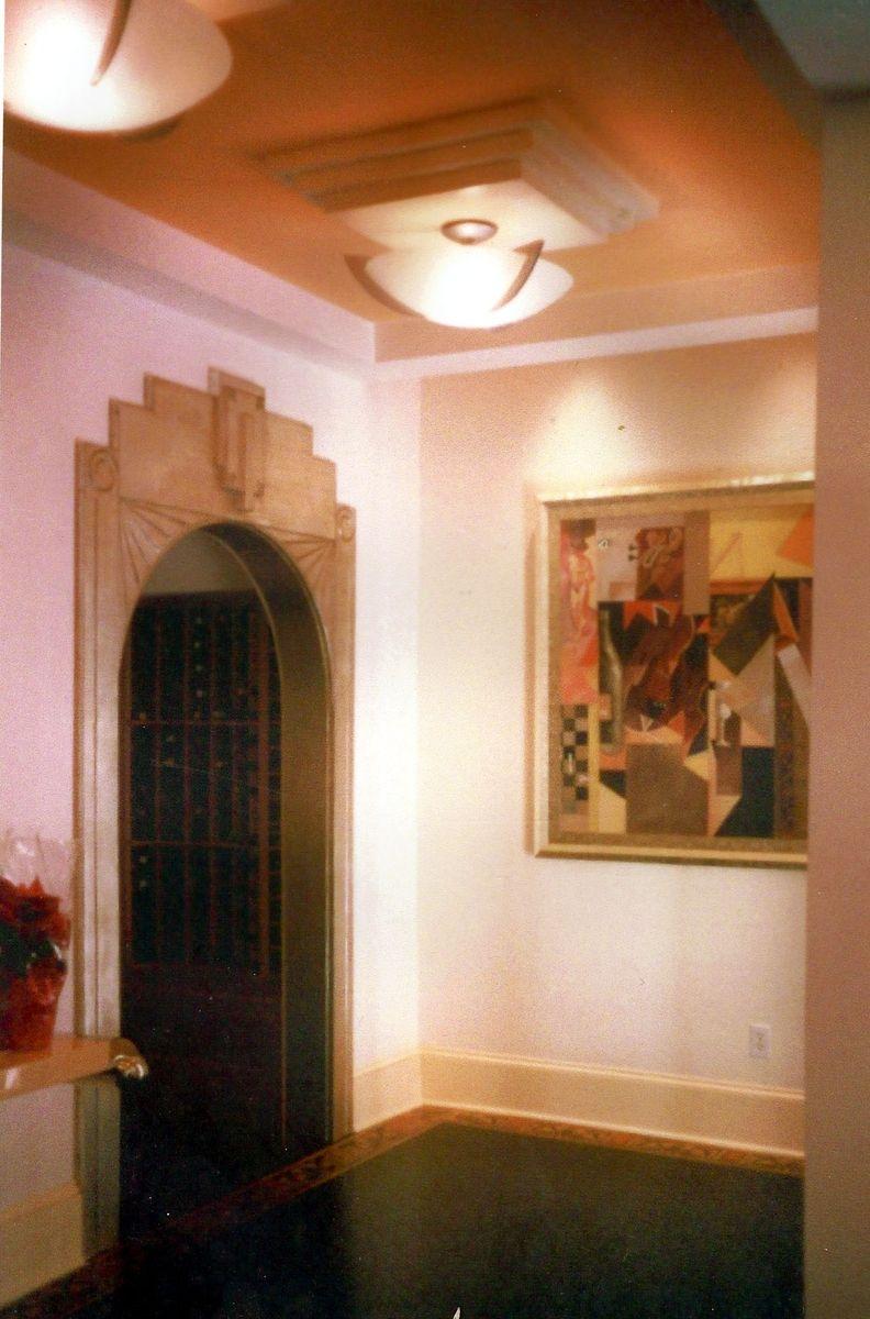 Handmade Art Deco Door Frame By Schmidt Mandell Studio