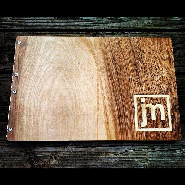 Hand Crafted Custom Request Wooden Birch PortfolioAlbum
