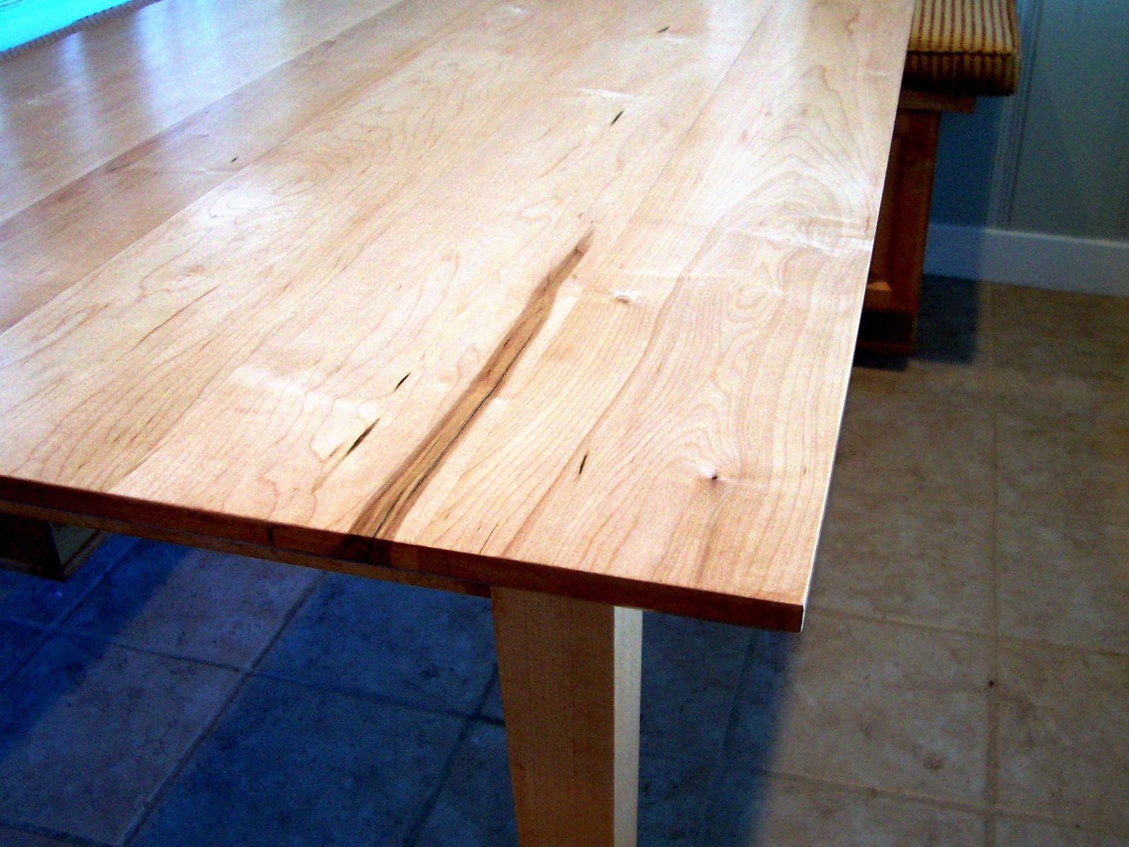 Hand Made Shaker Inspired Maple Table By Grant Kistler Designs