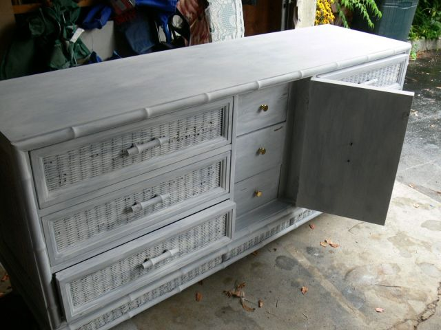unbearablygood a wicker dresser a pinterest florentine desk and