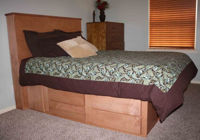 Hand Crafted Gun Bed With Hidden partment by Wwbeds Custom