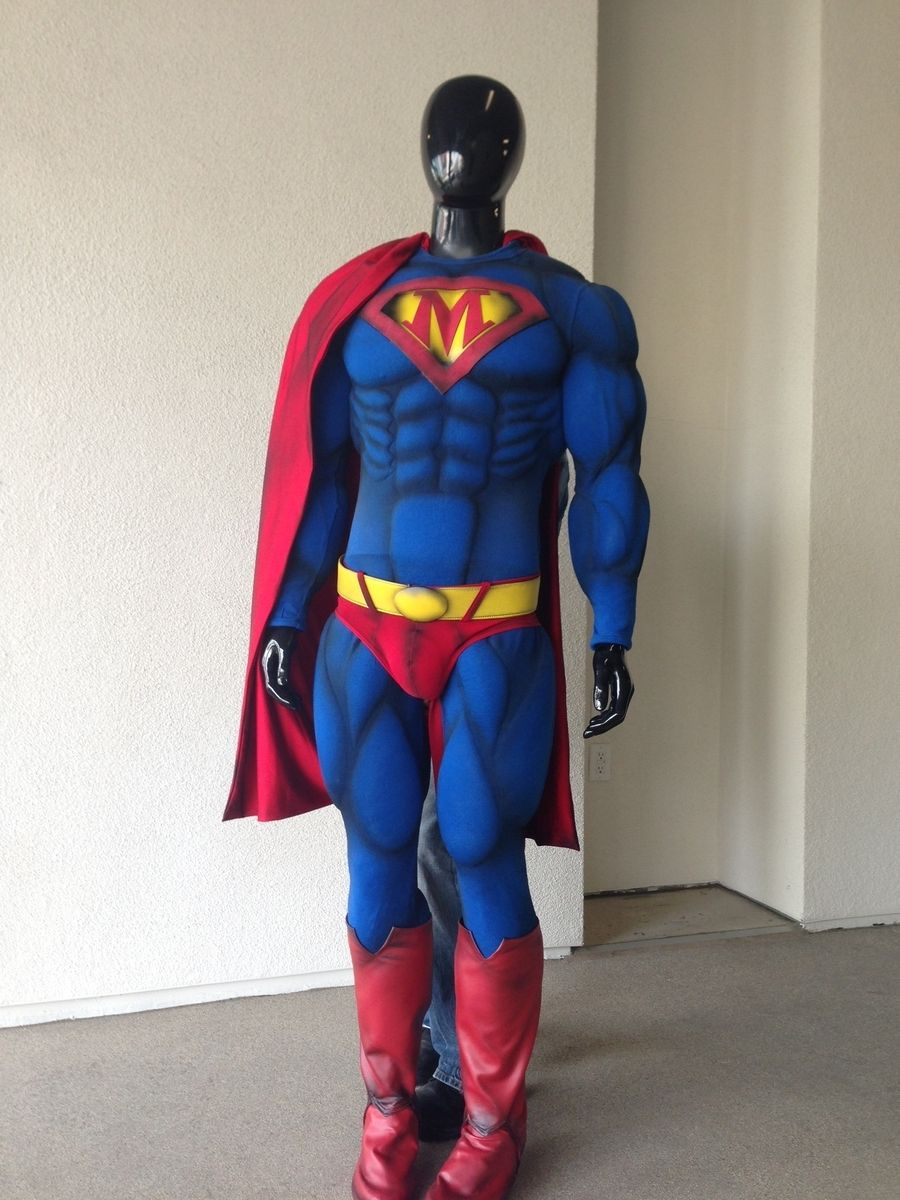 Hand Crafted Super Hero Costume By LUCKY13 Designbuild