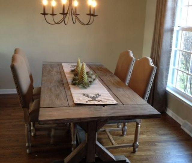 Custom Made Fancy X Farmhouse Table With Extensions Extending Dining Table Farmhouse Dining Table
