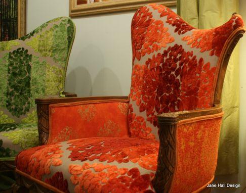 Handmade Upholstered Vintage Furniture Re Purposed In