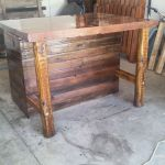 Handmade Rustic Kitchen Island Or Outdoor Bar By Cowboy Creation Custommade Com