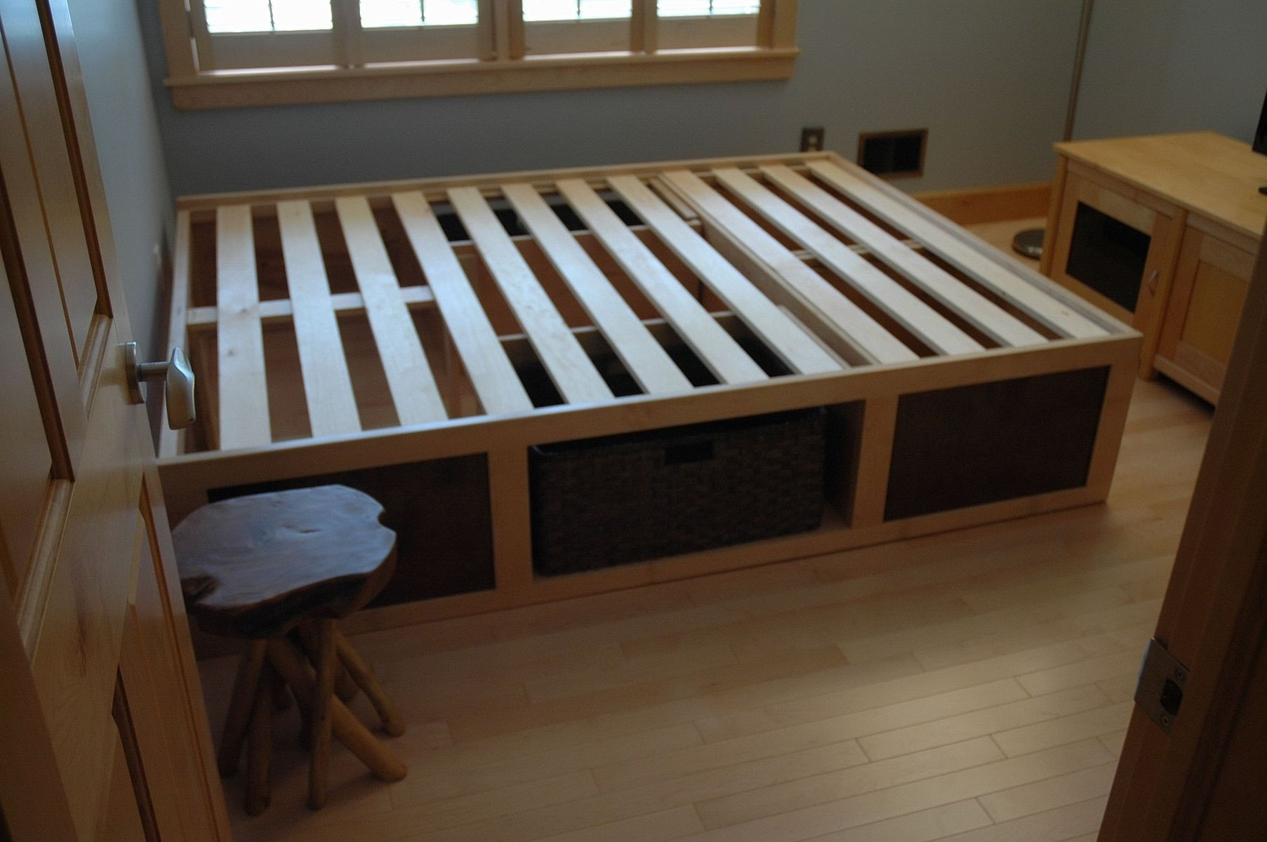 Hand Made Storage Bed By Wooden It Be Nice