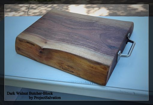 Custom Live Edge Butcher Block Reclaimed Wood Cutting