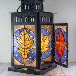 Custom Stained Glass Lanterns By Dancing Light Stained Glass Studio Custommade Com