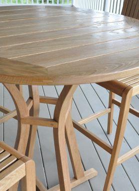 Custom Made White Oak Patio Furniture By Glessboards