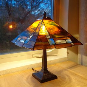 mission lamps craftsman arts and