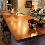 Hand Made Salvaged Oak Island Top By Defiance Hardwood
