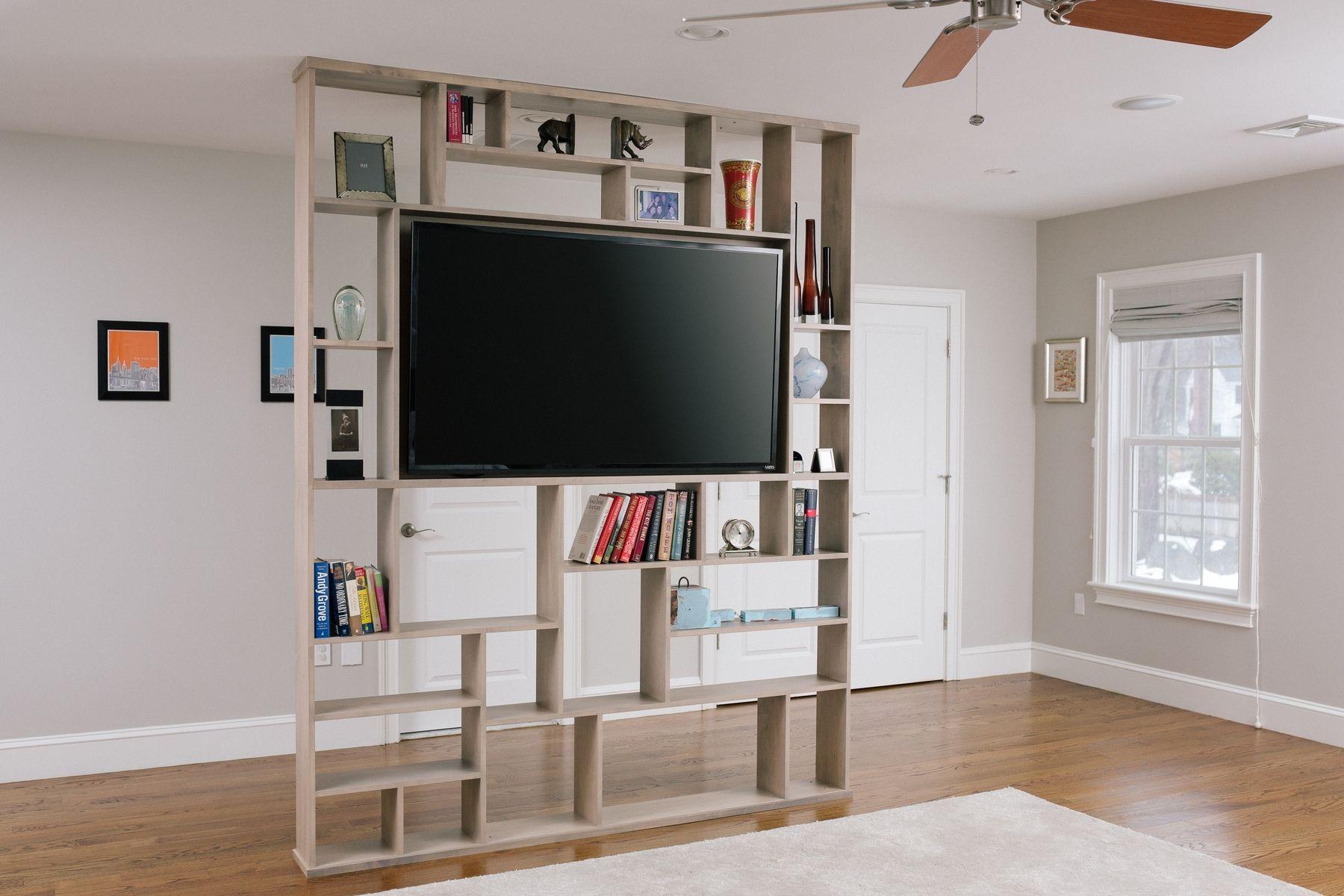 Lexington Room Divider Bookshelf Tv Stand