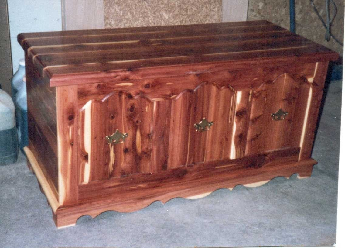 Hand Made Cedar Chest By Herl Custom Furniture And