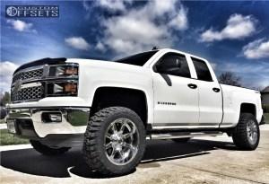 2014 Chevrolet Silverado 1500 Fuel Maverick Rough Country Suspension Lift 35in