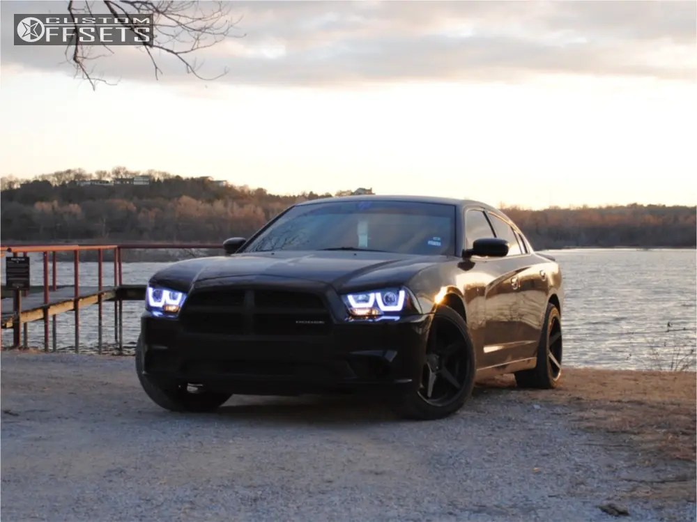 2012 Dodge Charger Ferrada Fr3 Eibach Lowering Springs