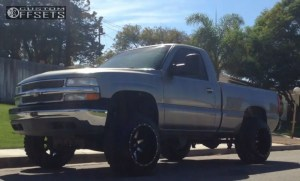 Wheel Offset 2002 Chevrolet Silverado 1500 Super