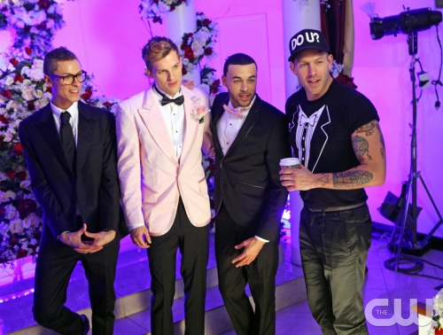 "America's Next Top Model -- ""The Girl Who Gets Married Again"" pictured left to right: Cory, Chris H., Don and Johnny Wujek Cycle 20 Photo: Patrick Wymore/The CW ©2013 The CW Network, LLC. All Rights Reserved"