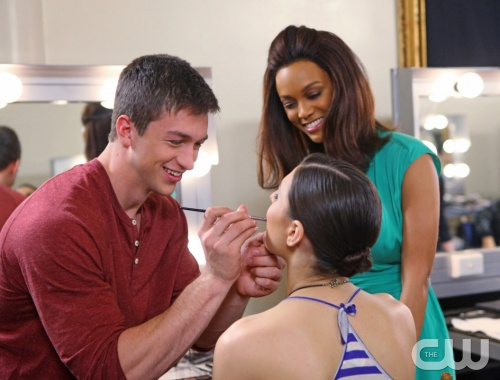 "America's Next Top Model -- ""The Girl Who Gets Married Again"" pictured left to right: Jeremy, Jiana and Tyra Banks Cycle 20 Photo: Patrick Wymore/The CW ©2013 The CW Network, LLC. All Rights Reserved"