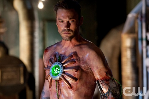 Brian Austin Green as John Corben/Metallo in Smallville -- Image via CWTV.com